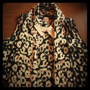 Cupid Vest leopard.  Brand new with Tags.